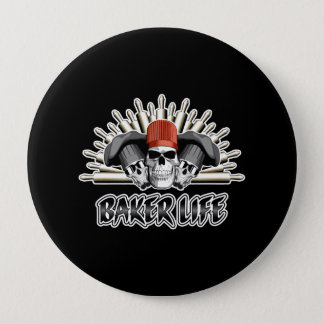 Bäcker-Leben Runder Button 10,2 Cm