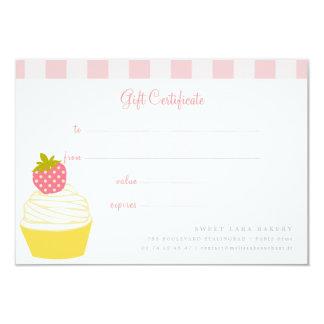 Bäckerei-Café-Retro süße Kuchen-niedliche Karte