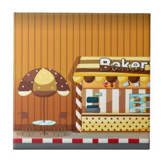 Bäckerei Fliese