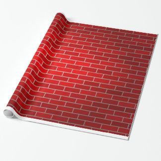 Backstein-Hintergrund Geschenkpapier