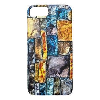 Backsteinmauer-Mosaik iPhone 8/7 Hülle