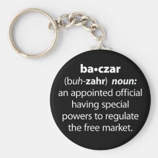 Baczar Standard Runder Schlüsselanhänger