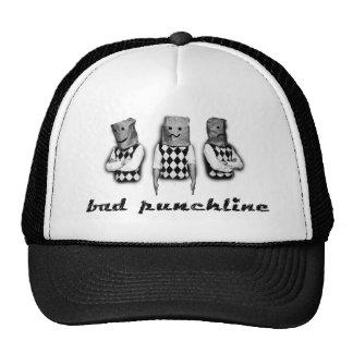 bad punchline - cap - black