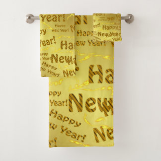 Bad-Tuch-Set, Feiertag, Set, neues Jahr Badhandtuch Set