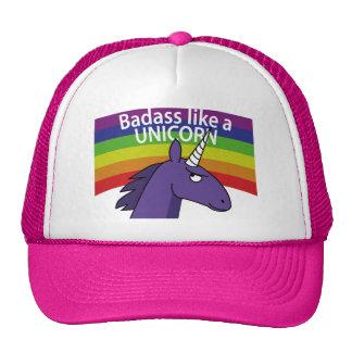 Badass aiment une licorne ! casquette