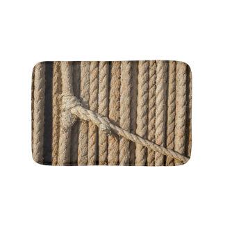 Badematte mit Faser-Seil