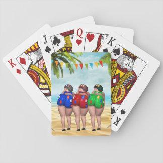 Baden der Schönheits-Spielkarten Spielkarten