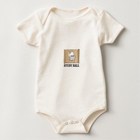 Badezimmer-Stillbeschäftigungsstunde Baby Strampler