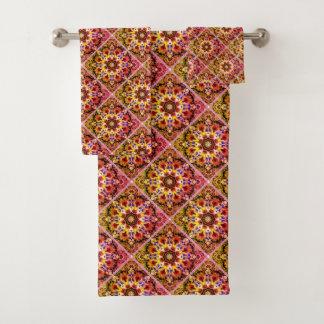 Badezimmer-Tuch-Set Badhandtuch Set