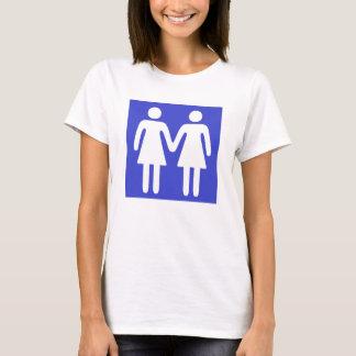 Badezimmer-Zeichen 1 T-Shirt