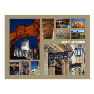 Badpostkarte Postkarte