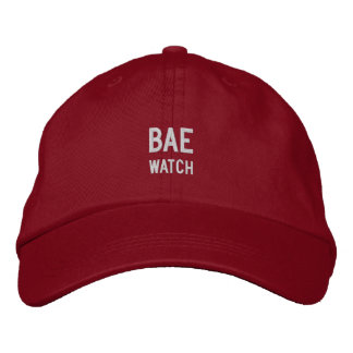 BAE UHR-VATI-HUT BESTICKTES CAP