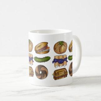 Bagel-Essiggurke Knish Blintz Reuben jüdische Kaffeetasse