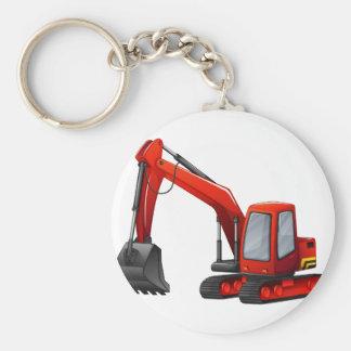 Bagger Schlüsselanhänger