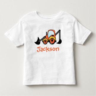Baggerbau-Kleinkind-T - Shirt