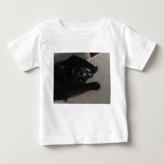 Bagheera das schwarze Katzen-Kleinkind-Shirt Baby T-shirt