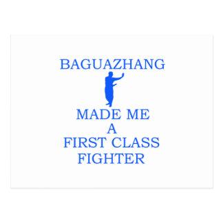 Baguazhang Kämpfer Postkarte