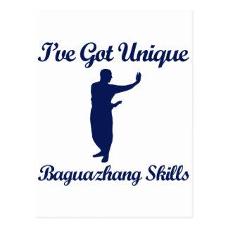 Baguazhang Kampfkunstentwürfe Postkarte