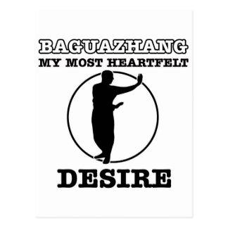 Baguazhang Kriegsentwurf Postkarte