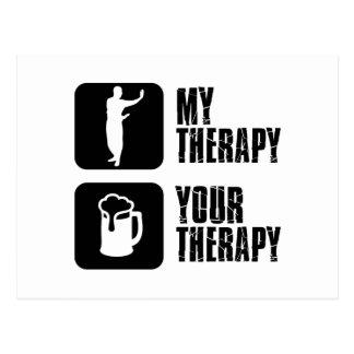 Baguazhang meine Therapie Postkarte
