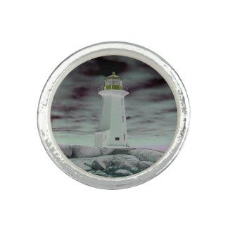 Bague Anneau de la Nouvelle-Écosse d'itinéraire de phare