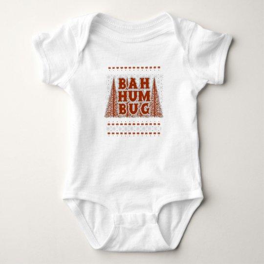 BAH HUMBUG - hässliches Weihnachten Baby Strampler