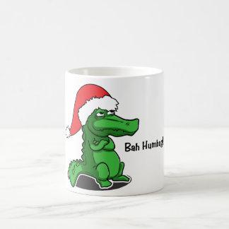 Bah Humbug! Niedlich und eingebildet, Alligator Kaffeetasse