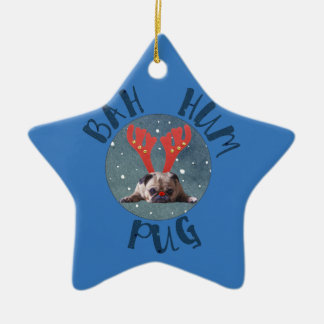 Bah Summen-Mops-Weihnachtssammlung Keramik Ornament
