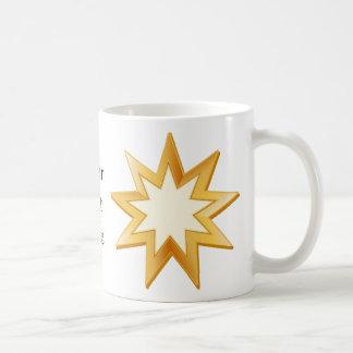 Baha'i Symbol Kaffeetasse