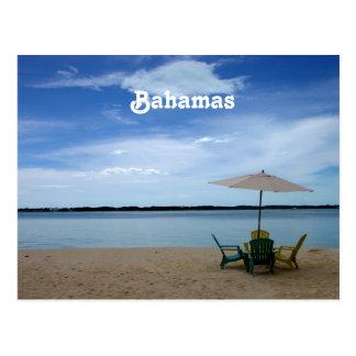 Bahama Strand Postkarten