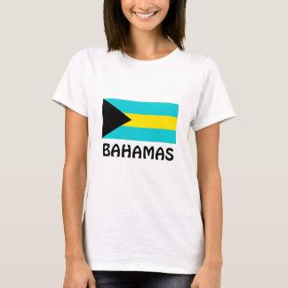 Bahamas-Flagge T-Shirt