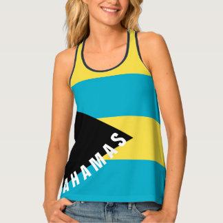 Bahamas-Flaggen-Trägershirt | Racerback Tanktop