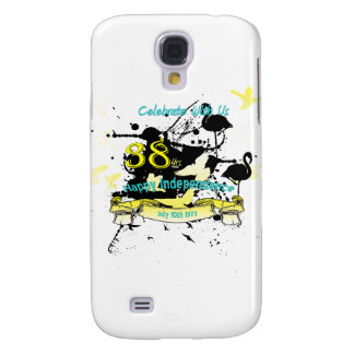 Bahamas-Unabhängigkeits-Schmutz IPhone Fall Galaxy S4 Hülle