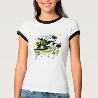 Bahamas-Unabhängigkeits-Schmutz-T-Stück T-Shirt