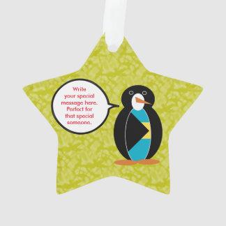Bahamischer Feiertags-Herr Penguin Ornament