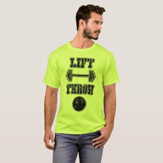 Bahn-und Feld-Schuss gesetztes Spritzring-Shirt T-Shirt