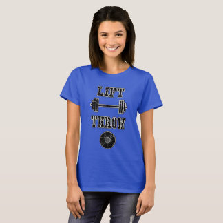 Bahn-und Felddiscus-Spritzring-Shirt T-Shirt