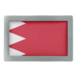 Bahrain-Flagge Rechteckige Gürtelschnallen