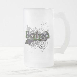 Bairdtartan-Schmutz Matte Glastasse