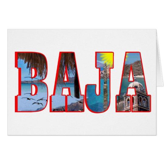 Baja Postkarte