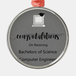 Bakkalaureen der Wissenschaften in der Silbernes Ornament
