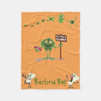 Bakterien Boy® u. Zombie Teeth® Fleece-Decke Fleecedecke
