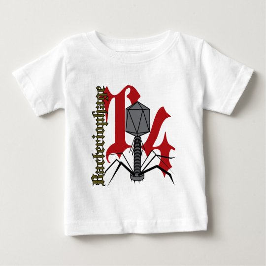 Bakteriophage T4 Baby T-shirt