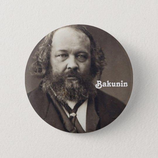 Bakunin 2 Knopf Runder Button 5,1 Cm