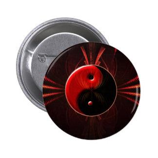 Balance des Feuers Runder Button 5,7 Cm