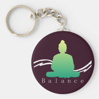 """""""Balance"""" schöner Buddha Schlüsselanhänger"""