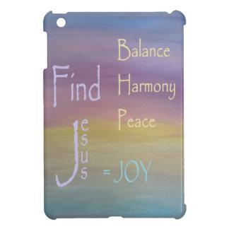 Balancen-Harmonie-Friedens… FREUDE iPad Mini Hülle