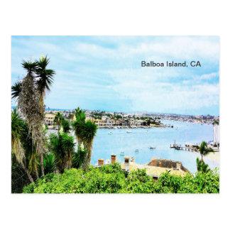 Balboa-Insel, CA Postkarte