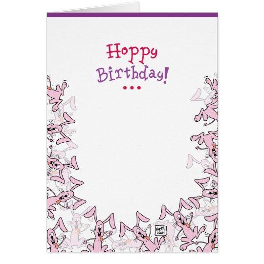 Balding lustige Geburtstags-Karte Karte