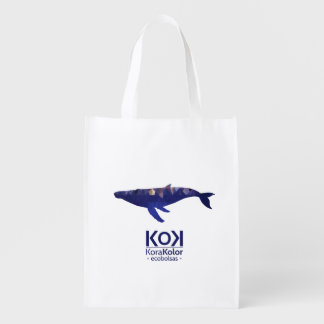 baleine trixel sacs d'épicerie